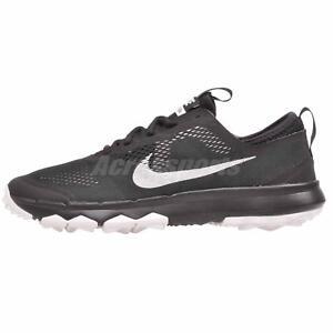 Nike Fi Bermuda W Golf Mens Shoes Wide Black White Nwob