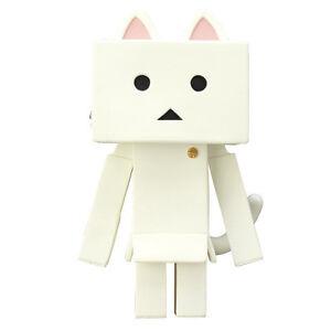 Nyanboard-Soft-Vinyl-Toy-Box-Figure-Shiro-White-Cat-Yotsuba-amp-Danbo-Japan