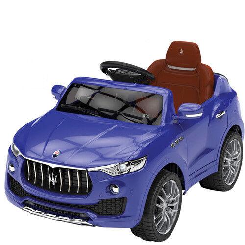 Auto elettrica bambini Maserati levante 12v volt radiocomando fuoristrada SUV