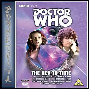 DOCTOR-WHO-THE-KEY-TO-TIME-COLLECTION-TOM-BAKER-7-DVDS-BRAND-NEW-DVD