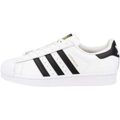 Adidas Superstar Scarpe Retrò Classico Sneaker White Black C77124 Samba Speciale-mostra Il Titolo Originale Pregevole Fattura