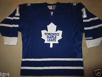 Sports Mem, Cards & Fan Shop Humorous Andrew Raycroft #1 Toronto Maple Leafs Ccm Nhl Hockey Jersey Lg L Products Are Sold Without Limitations Fan Apparel & Souvenirs