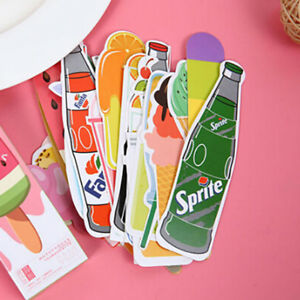 30pcs-Cute-Candy-Bookmarks-Paper-Clip-Office-School-Stationery-Supply-Funny-Gift