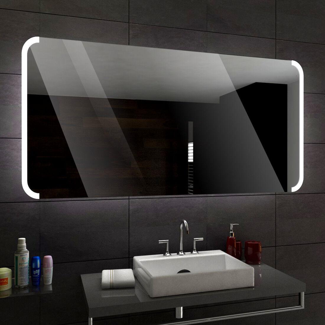 Seattle éclairé del Miroir salle de Bain Led personnalisé Größe accessoires
