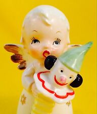 Very Rare! Cute Boy Angel Jack in the Box Nikoniko Vintage Figurine Christmas