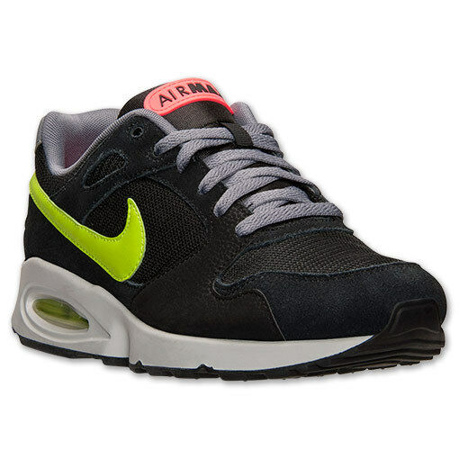 Nike Air Max Coliseum Racer Running Black/Green/Grey Sizes 8-12 NIB