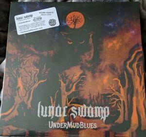 Lunar-Swamp-UnderMudBlues-The-Swamp-Records-TSR-001-Sealed-45-RPM-Classic-Black