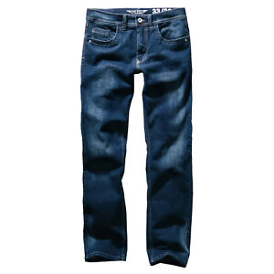 HERO-STRETCH-JEANS-HOSE-PORTLAND-SLIM-STRAIGHT-FIT-CLASSIC-BLUE-USED