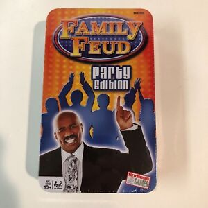 Details about Family Feud Party Edition - Entire Family -Endless Game- Game  Night In Tin