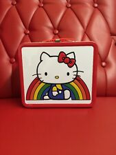 Hello Kitty Con 2014 Metal Lunch Box: Rainbow (HK)