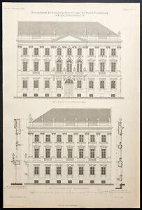 1904 - Arquitectura: Consistorio Real de La Provincia De Para Berlin