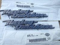 Harley Davidson Fuel Tank Emblems Medallion Softail Dyna Street Glide
