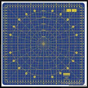 Base de corte, 32 x 32 cm, giratoria, 360 grados de rotación