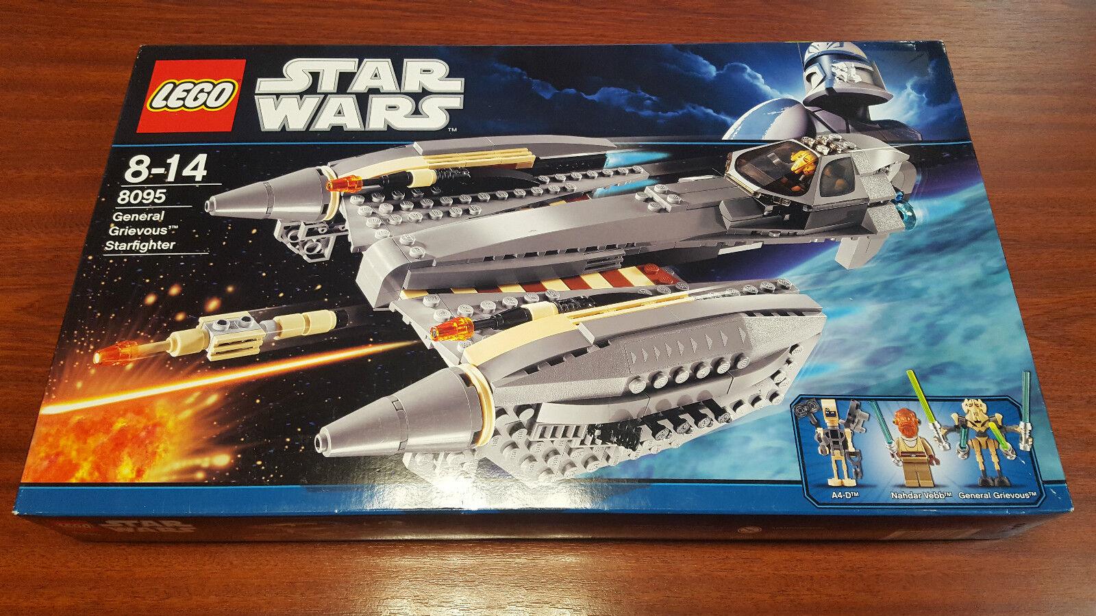 LEGO estrella guerras 8095  General Grievous estrellacombatiente   - nuovo NEUF SUPERBE RARE     punto vendita