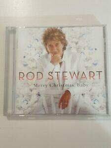 Rod Stewart Merry Christmas Baby - CD UK Release