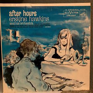 "ERSKINE HAWKINS - After Hours (RCA LPM 2227 Mono) - 12"" Vinyl Record LP - EX"