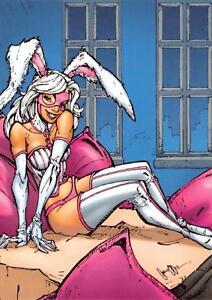 WHITE-RABBIT-DC-Comics-The-New-52-Cryptozoic-2012-BASE-Trading-Card-60