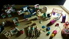 Vintage 1993 Fisher Price Loving Family doll house People, Furniture& More.HUGE
