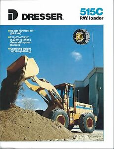 Equipment-Brochure-Dresser-515C-Payloader-Pay-Wheel-Loader-c1990-E3368
