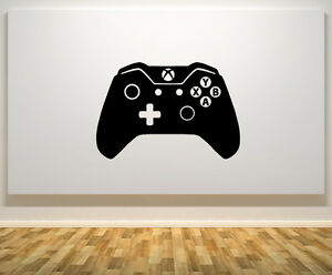 Xbox One Controller Gamepad 1 Gaming Gamer Wall Art Decal Sticker