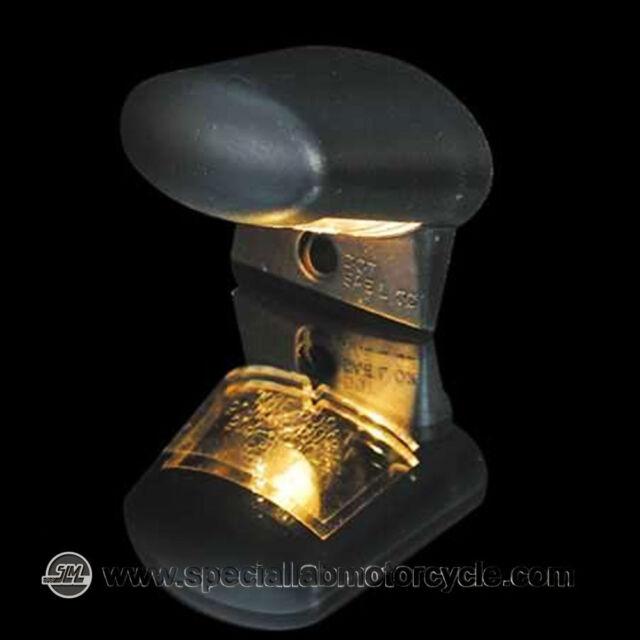 Lumière Plaque D'immatriculation Halogène Black Cafè Racer