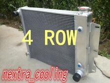 Aluminum Radiator For 87-95 Jeep Wrangler TJ YJ V8 Conversion 97-02
