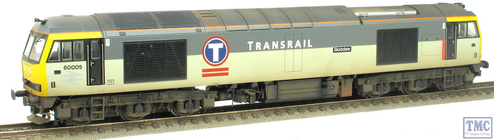 R3267XS Hornby OO Co-Co Diesel 60005 Skiddaw Class 60 DCC Sound TMC Weatherosso