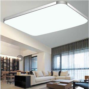 Das Bild Wird Geladen 8000LM LED Deckenleuchte Deckenlampe Panel Lampe Badlampe Wohnzimmer