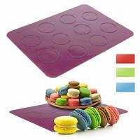 Macaron Silikon Backmatte Backfolie Form Backform Matte Kuchenform Keksform Keks