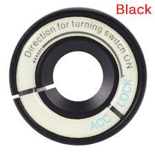 3.4x3.4cm LED Luminous Car Ignition Key Hole Ring Coil Decor X9V4 Sticker L9Y6
