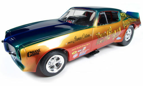 1 18 Autoworld ertl 1970 Pontiac Firebird don gay funny Car