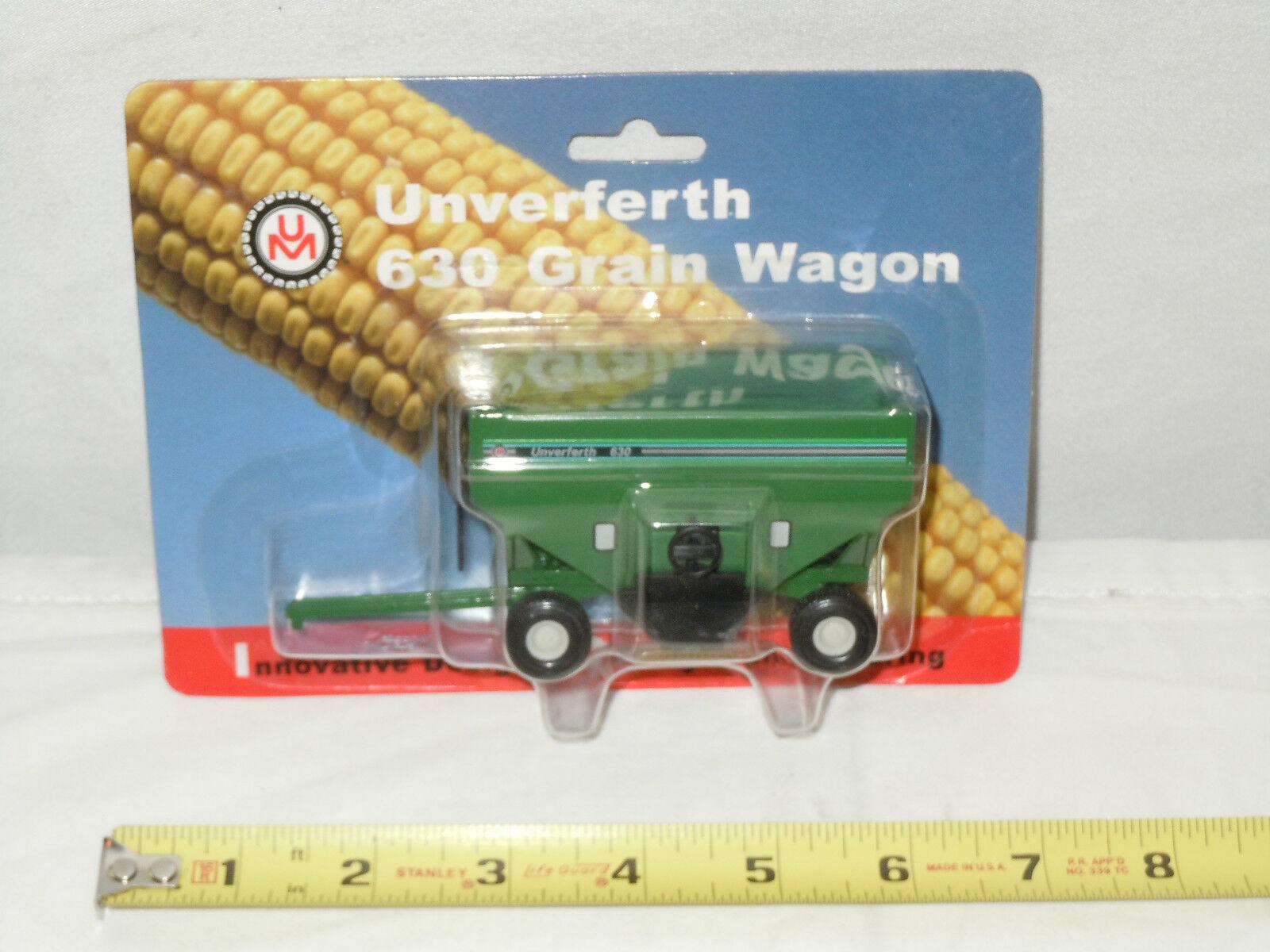 Unverferth 630 Green Grain Wagon  By SpecCast    1 64th Scale