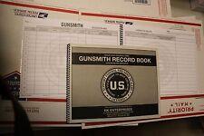 Gunsmith Record Book x 2 pcs 300 entries per book ATF FFL approved