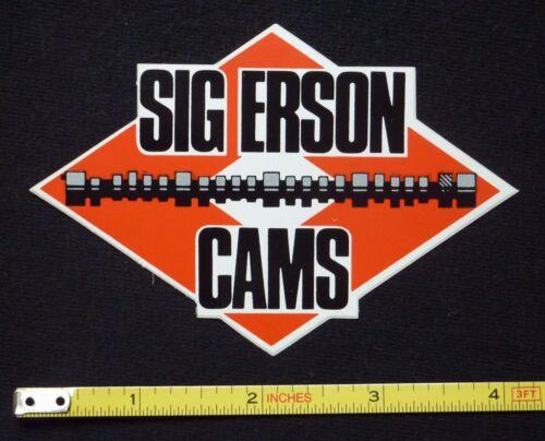 Sig Erson Cams Decal Sticker~Original 60/'s 70/'s Vintage~NHRA Racing Rat Hot Rod