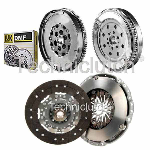 2 Part Clutch Kit And Luk Dmf For Opel Astra H Twintop Convertible 1.9 Cdti Lange Levensduur