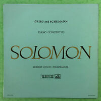 Grieg & Schumann - Piano Concertos - Solomon - Herbert Menges - ASD-272 Ex+
