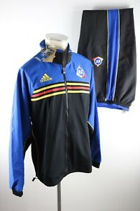 KSC Trainingsanzug Gr. M L XL Jacke + Hose Karlsruher SC 90er vintage adidas