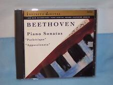 Beethoven: Piano Sonatas Pathetique & Appassionata By Ekaterina Murina CD 1994