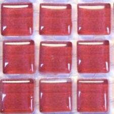 81 murrini verre cristal tuiles de Mosaïque - Rose Vif