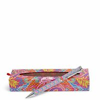 Vera Bradley Ball Point Pen In Paisley In Paradise on sale