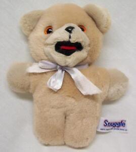 VINTAGE-RUSS-Snuggle-SNUGGLES-TEDDY-BEAR-6-034-Plush-STUFFED-ANIMAL-Toy