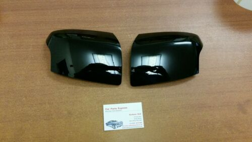 FORD FOCUS ST 225 MK2 FOCUS NEW GLOSS BLACK WING MIRROR COVER SET 05-08