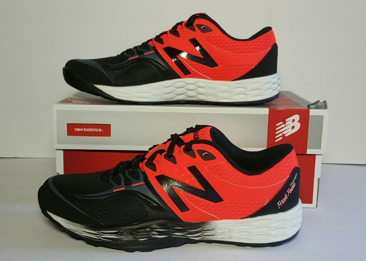 Men's New Balance MX80G02 Training shoes  Size 9.5 orange and black New in Box