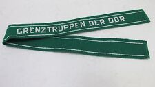 East German DDR Border Guard Troop GDR Uniform Cuff Title Sleeve Band NOS
