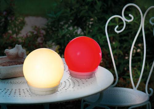 2er Set 15cm schwimmfähige Solar Leuchtkugel Fernbedienung Kugel Teichkugel NEU