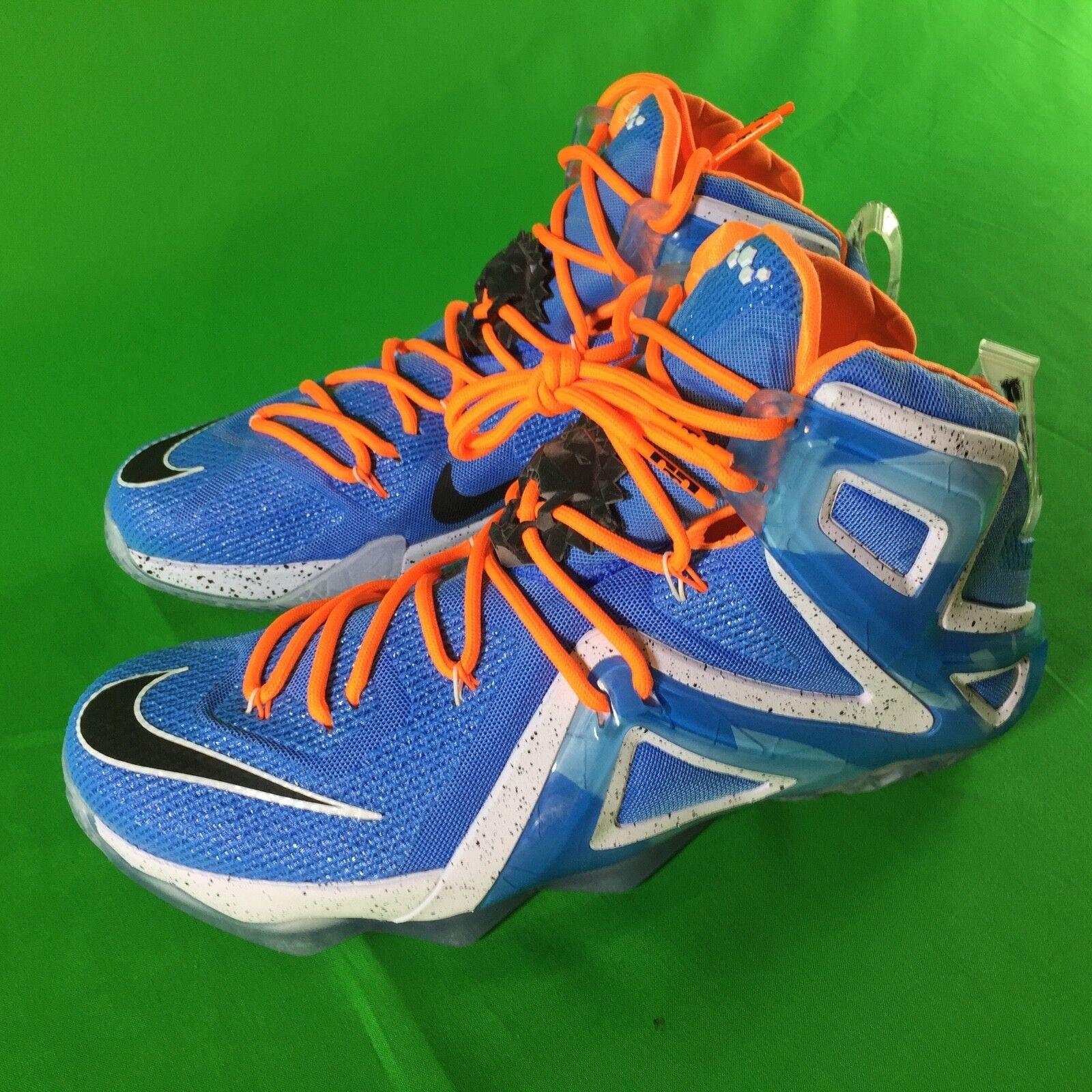 Nike LEBRON JAMES XII Elite Men's Size 11.5 'Elevate' Basketball shoes bluee NEW