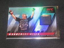 WANDERLEI SILVA UFC MMA 2010 TOPPS CERTIFIED AUTHENTIC FIGHT WORN CARD /188