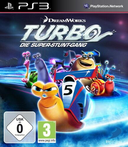 1 von 1 - Sony Playstation 3 PS3 Spiel Turbo Die Super Stunt Gang