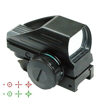 Tactical Holographic Red / Green Reflex Scope sight combo 4 Reticles HD103