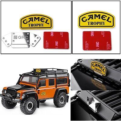 Camel Cup Camel Trophy Metall Emblem für 1//10 TRX4 Land Rover Defender